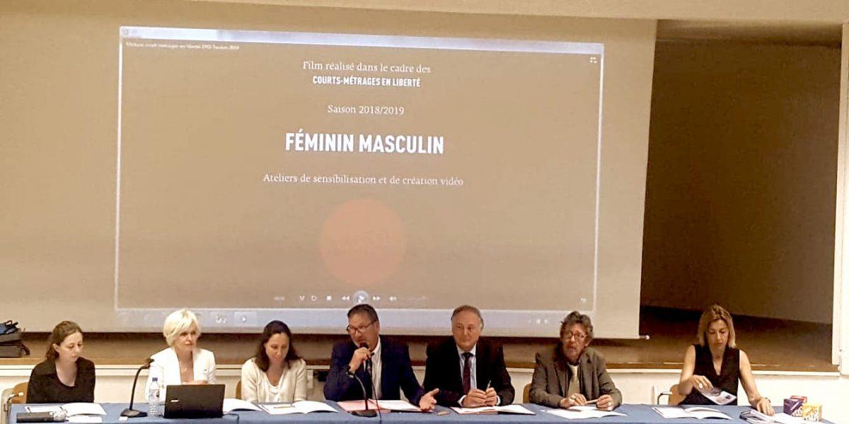 L'ÉQUIPE PROJET EFHCA INVITÉE A LA JOURNÉE INTERRÉGIONALE  « ÉGALITÉ FEMMES-HOMMES : TOUS CONCERNÉS »