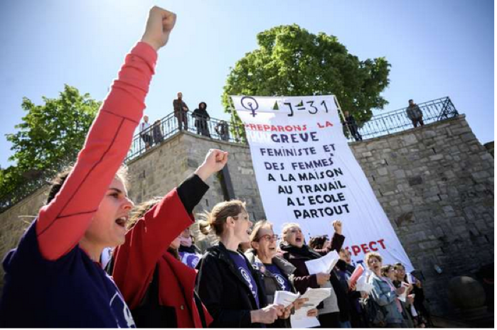 En Suisse, les femmes disent STOP aux inégalités!